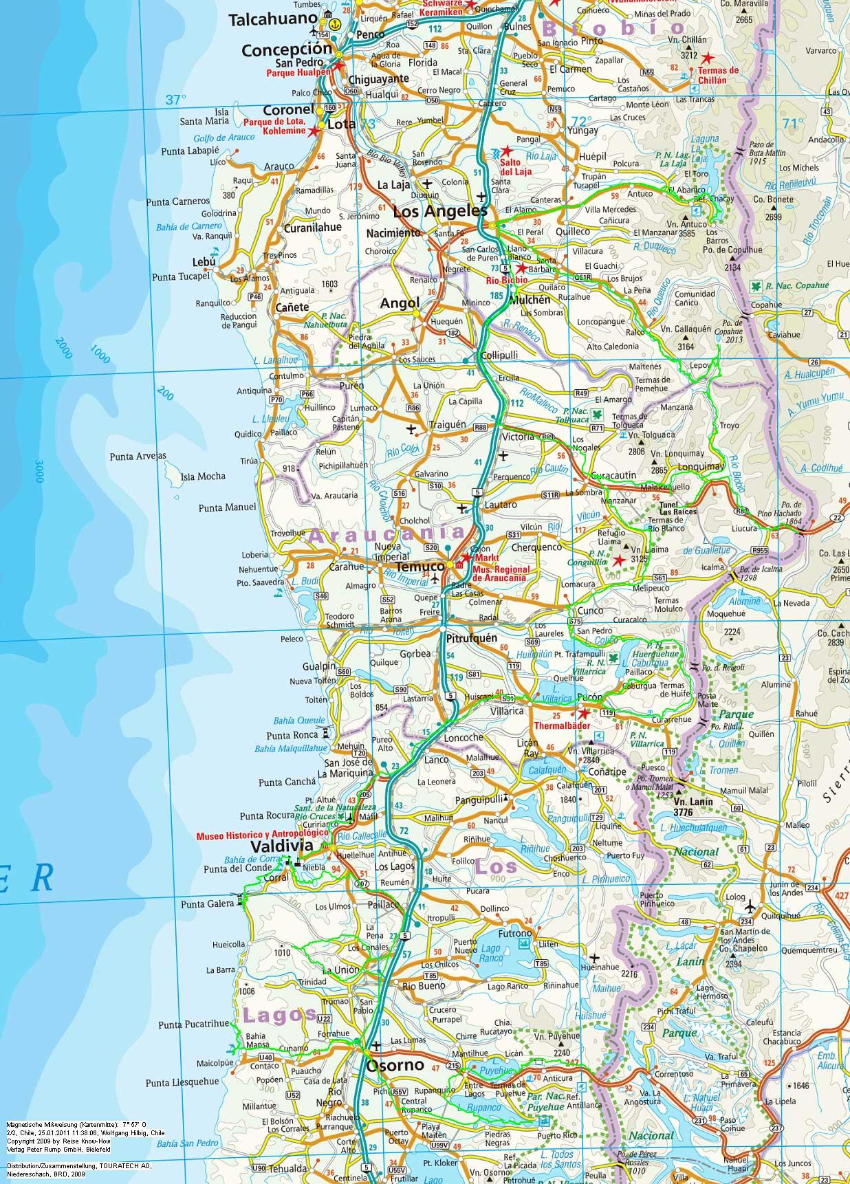 karte chile Karte Chile 4